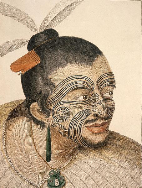 maori.1784.date.img : un visage daté pour l'éternité..